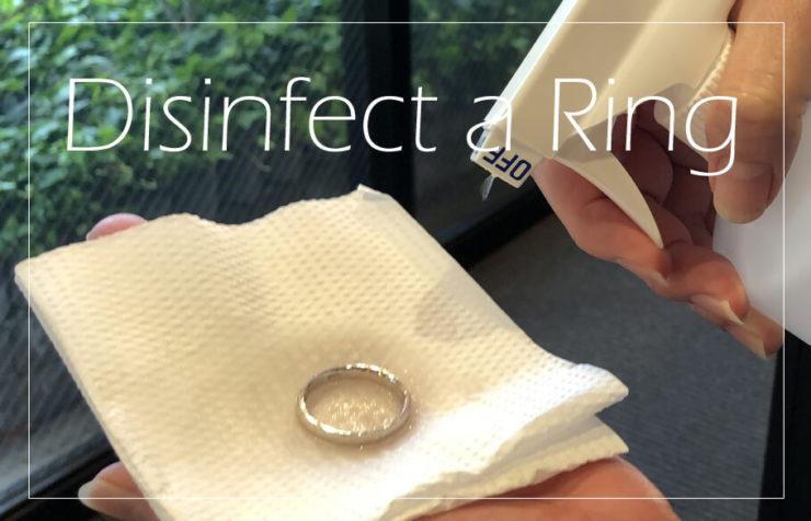 結婚指輪をつけたまま手洗い消毒しても大丈夫?のアイキャッチ