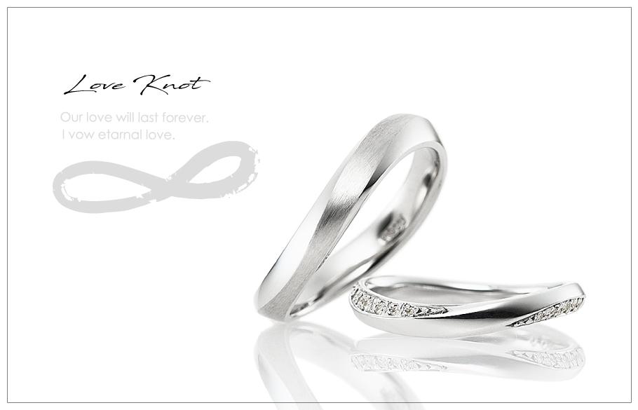 結婚指輪のご紹介「Love Knot 2310モデル」のアイキャッチ