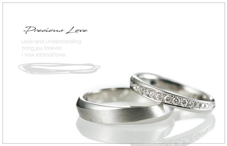 結婚指輪のご紹介「Precious Love 681モデル」のアイキャッチ