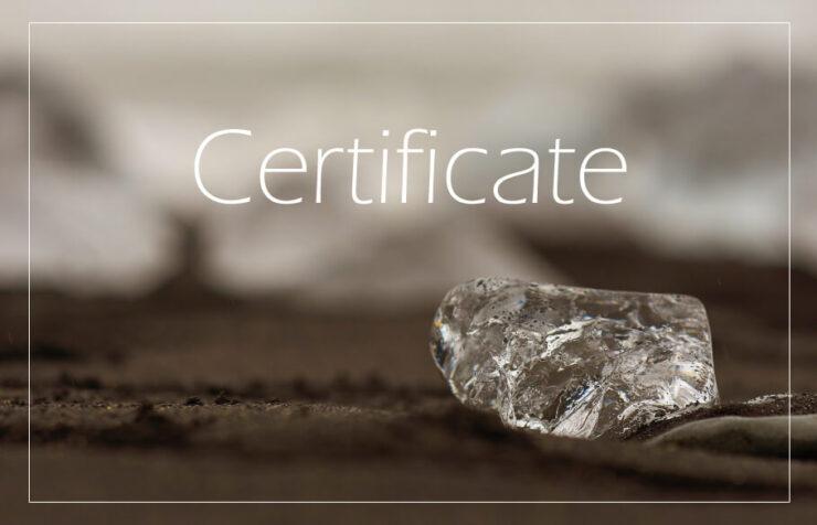 ダイヤモンドの鑑定書と鑑別書2種類あるの?のアイキャッチ
