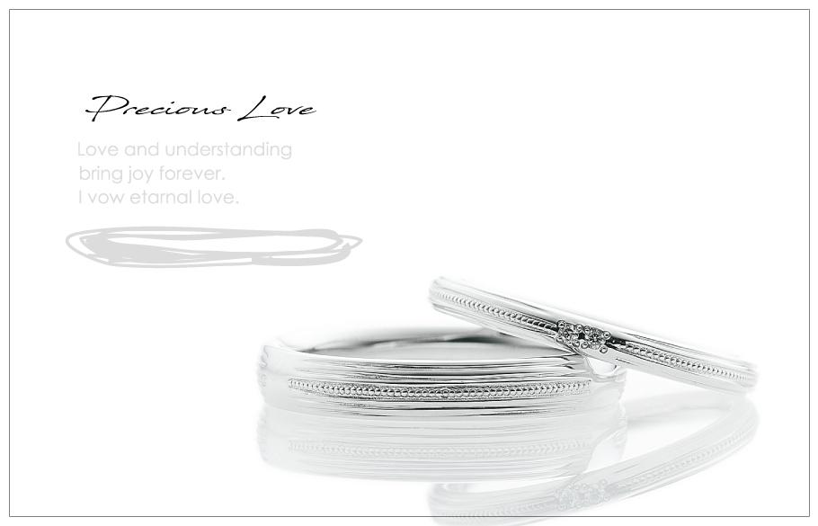 結婚指輪のご紹介「Precious Love 2304モデル」のアイキャッチ